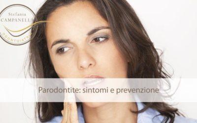 Parodontite sintomi e prevenzione