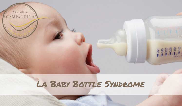 La Baby Bottle Syndrome o Sindrome da Biberon